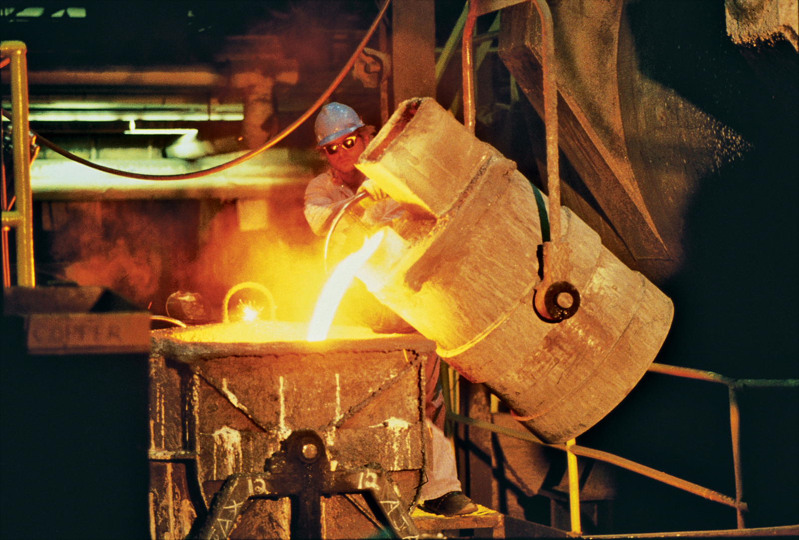 Cast-iron process at the Kohler manufacturing center