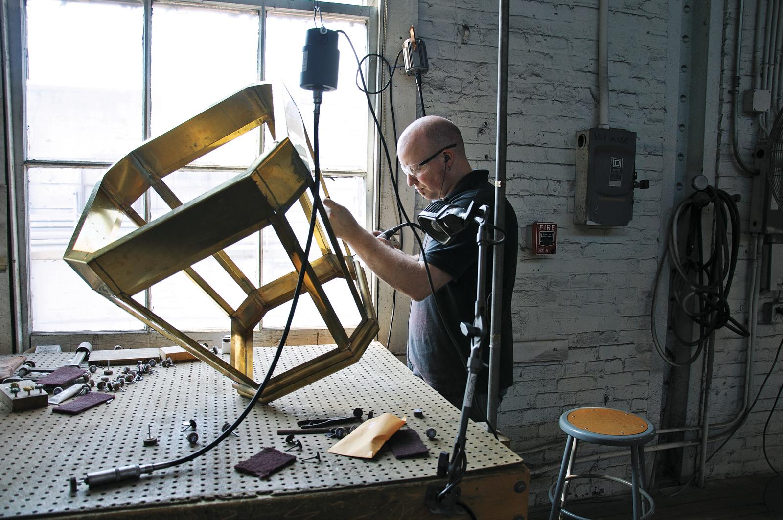 Building a Urban Electric Company lighting fixture