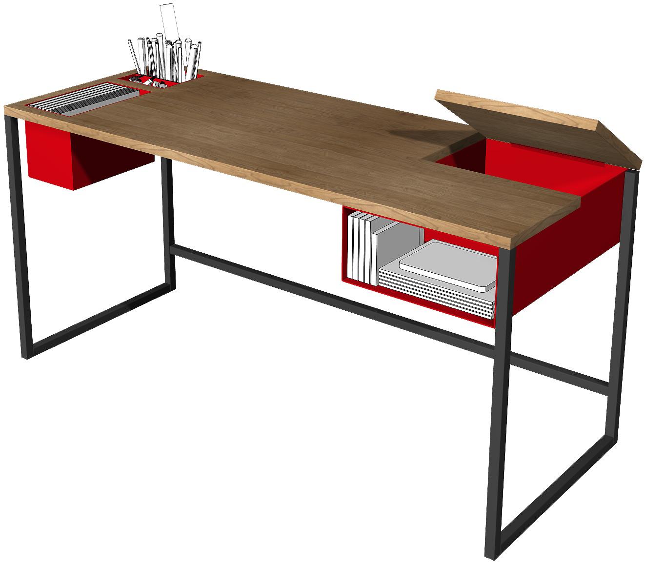 intermix desk open
