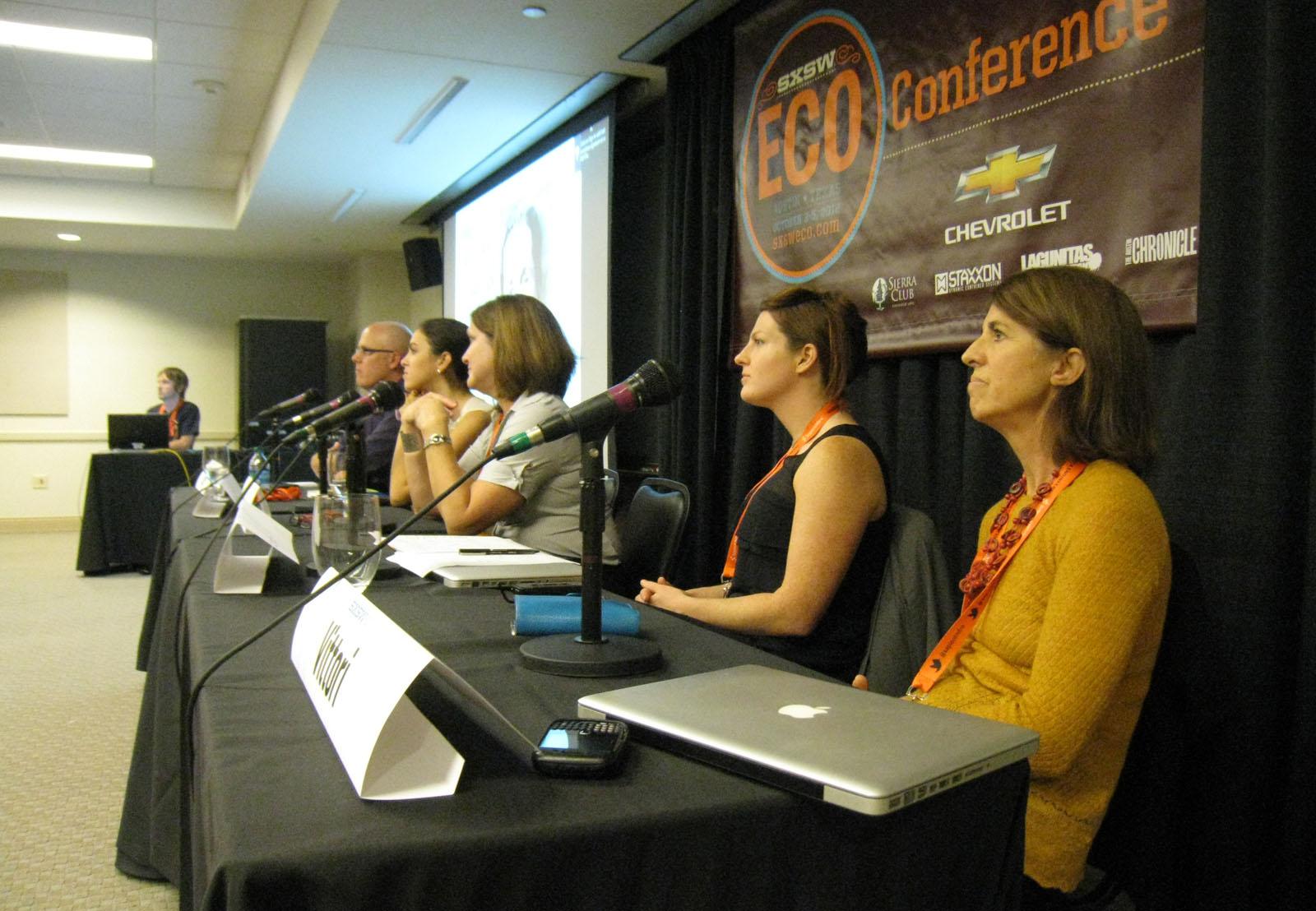 sxssw eco women sustainable design panel