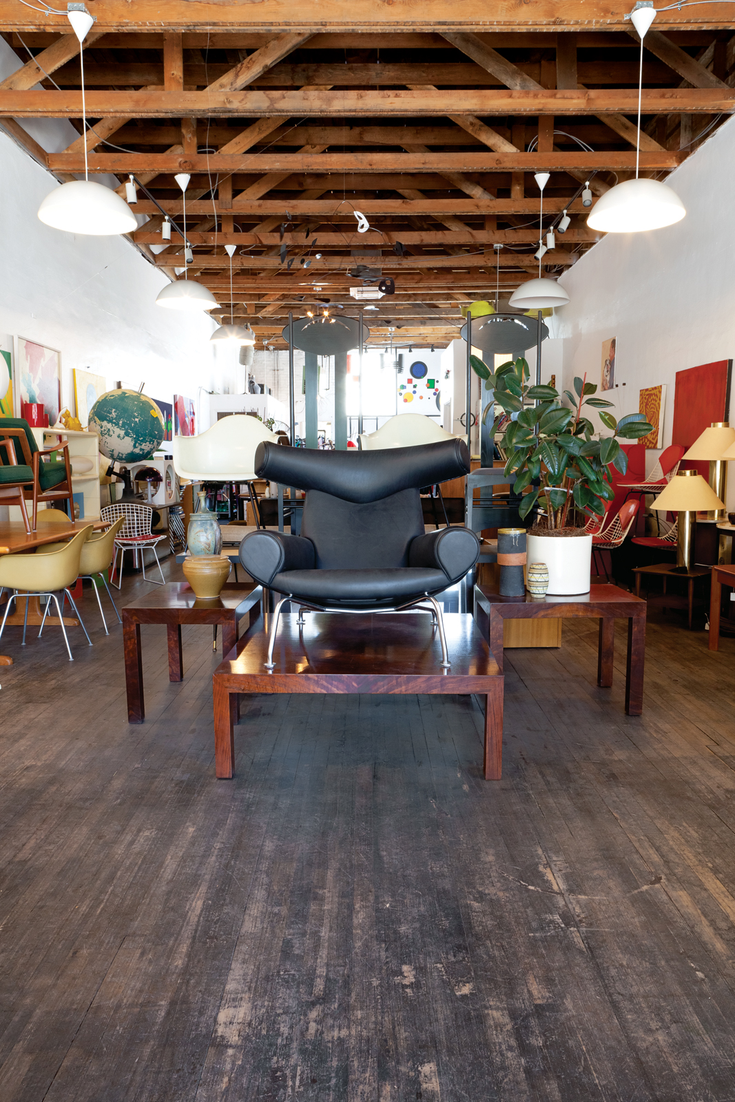 Ox Chair by Hans Wegner at the Green Ant store