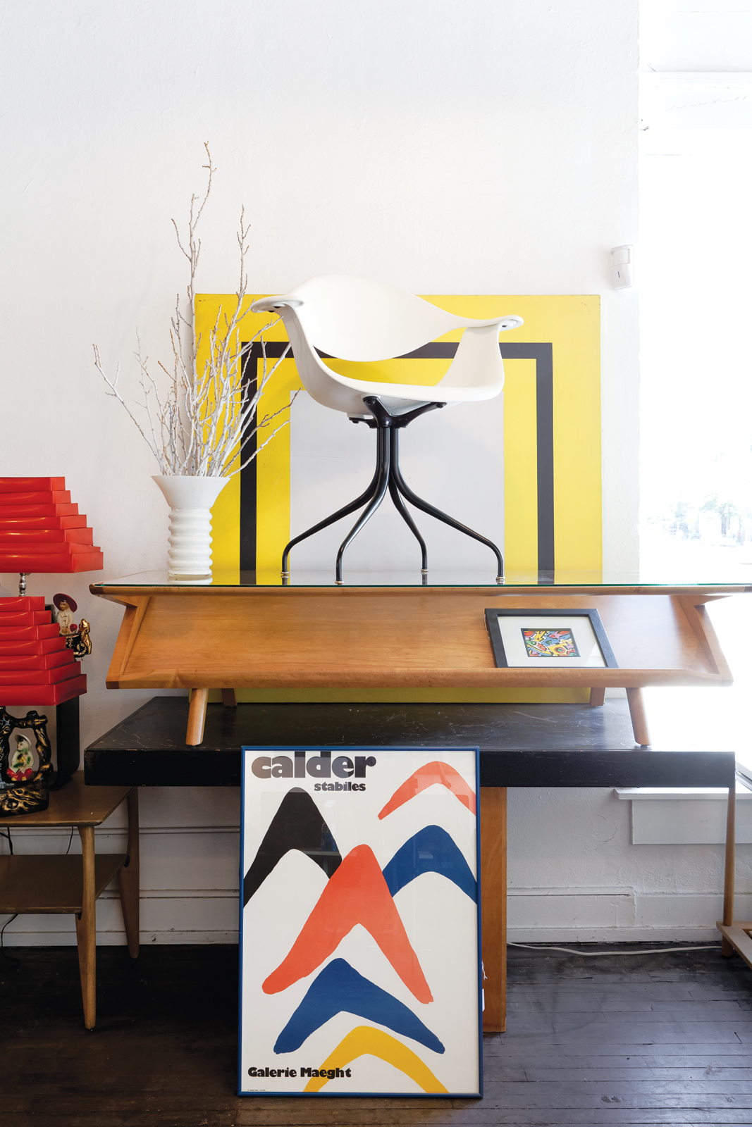 Mid-century furniture at the Green Ant store