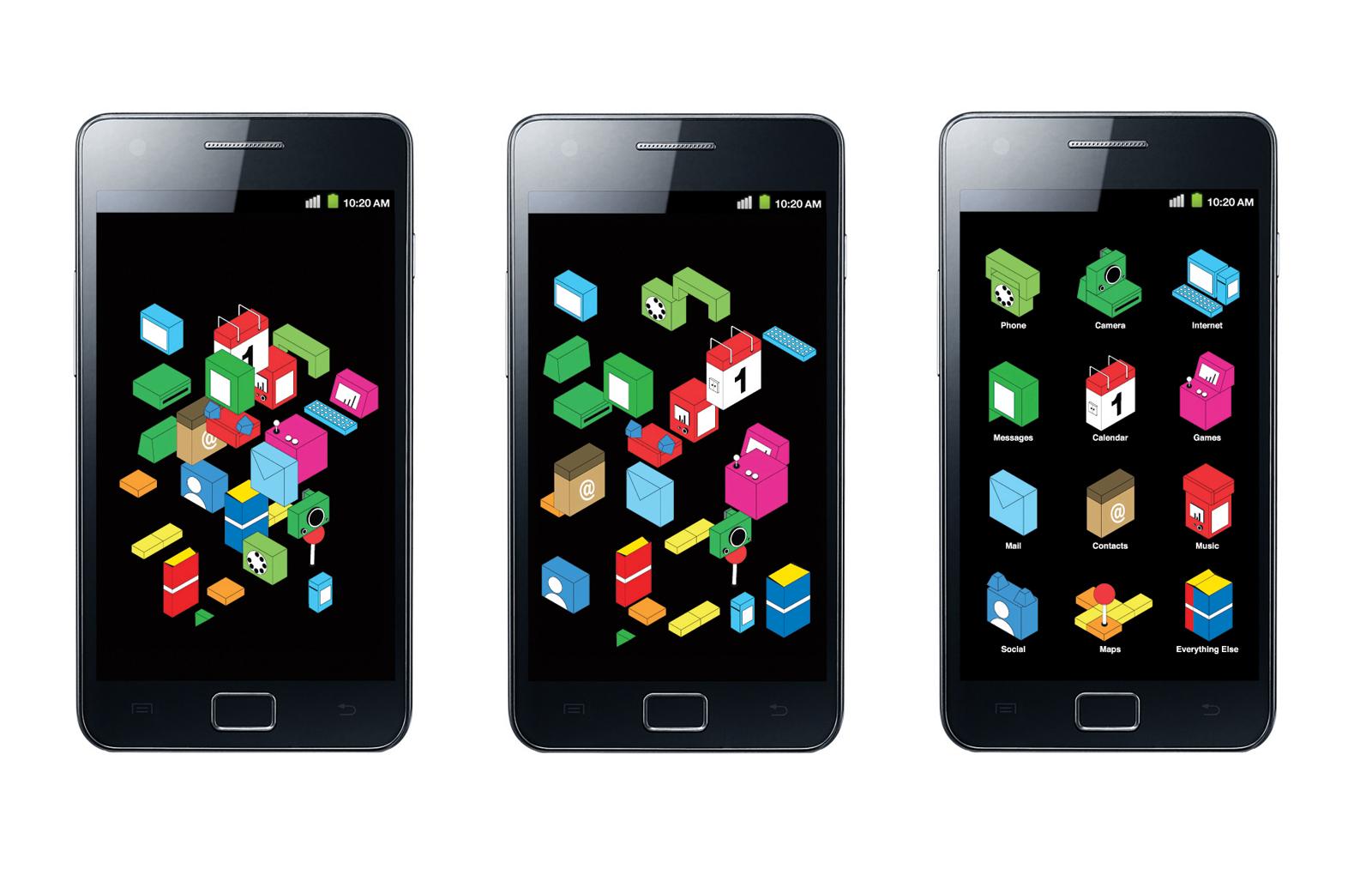 Android interface design by Natasha Jen