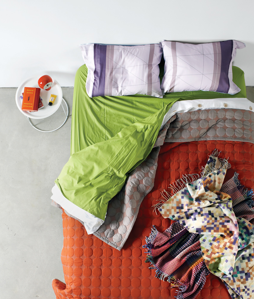 modern sheets, blankets, and duvets