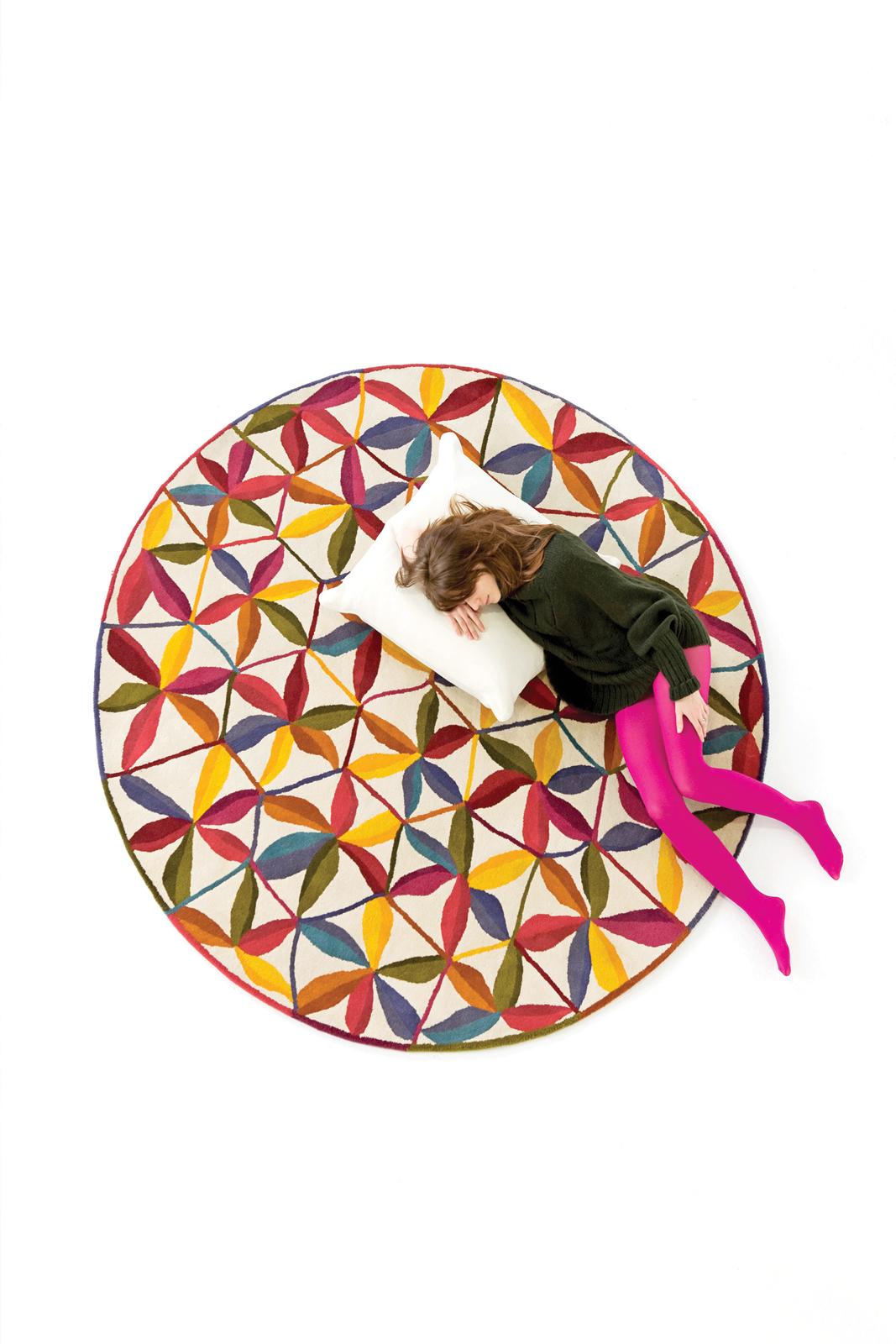 Kala rug by Nani Marquina and Care and Fair
