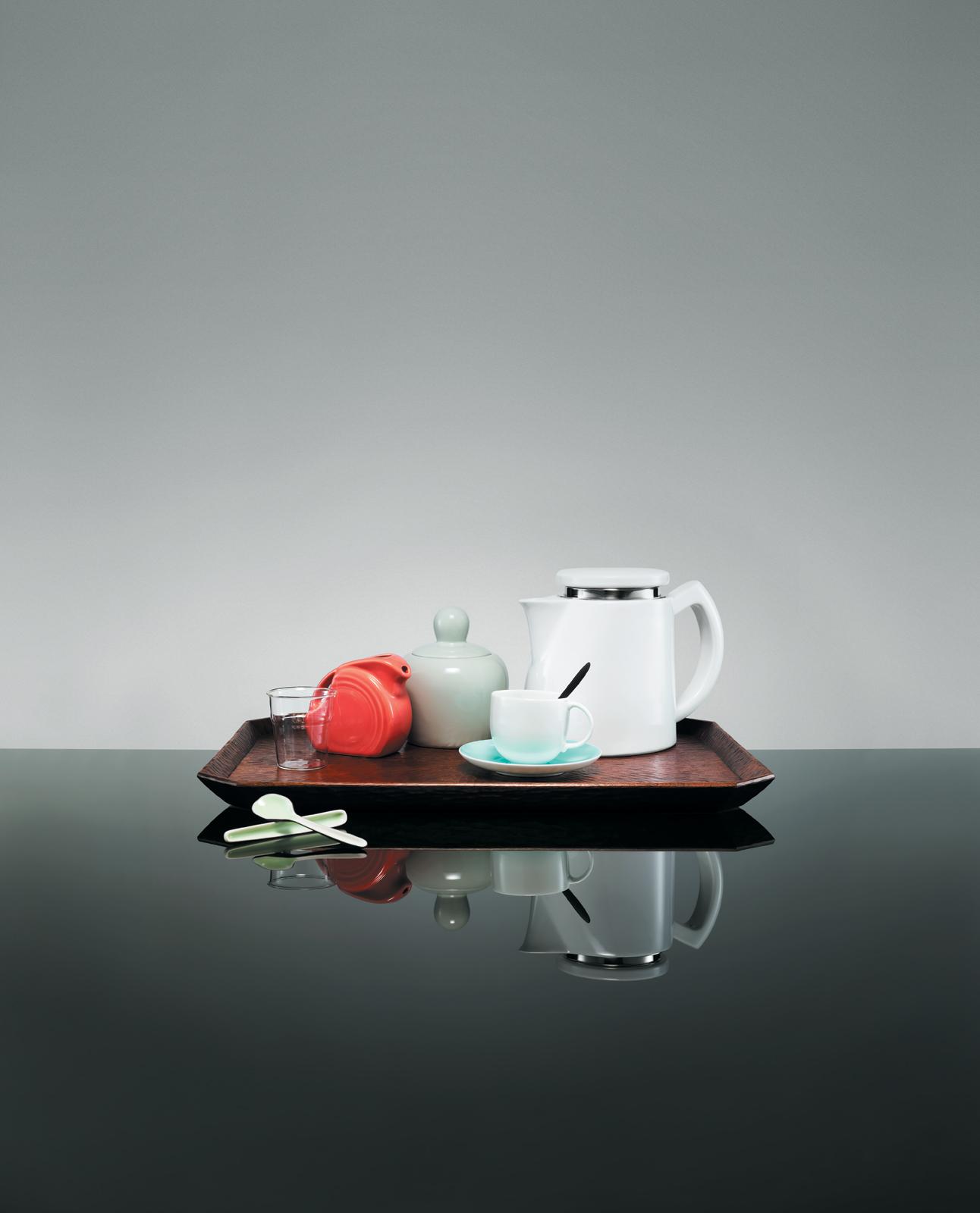 Modern servingware