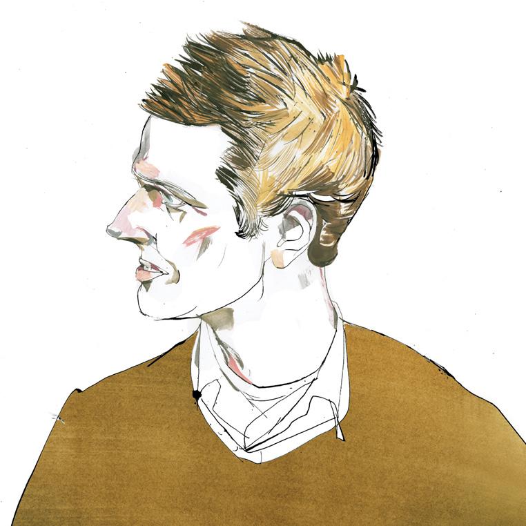 Max Fraser illustration by Riccardo Vecchio
