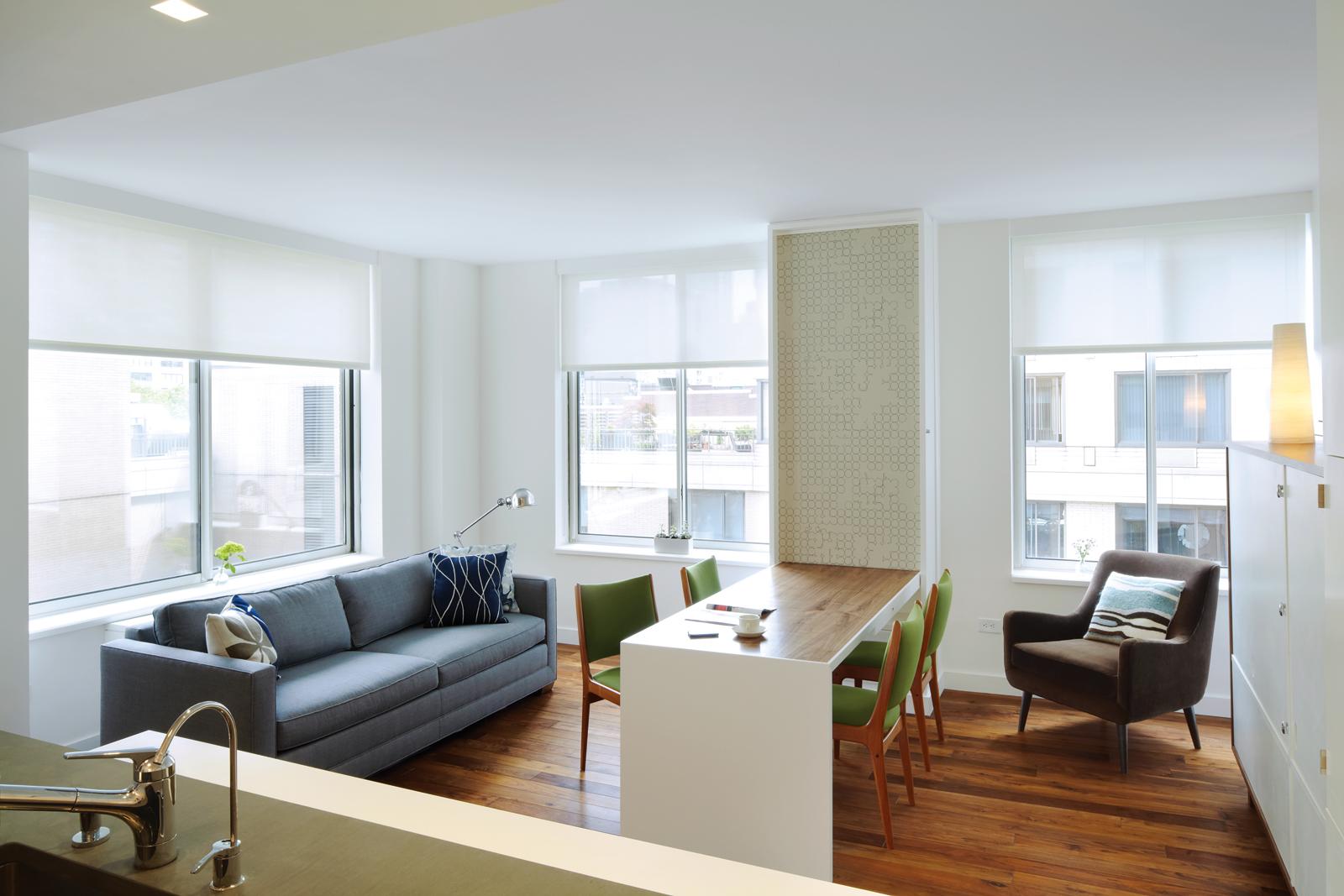 Small apartment in Manhattan, New York