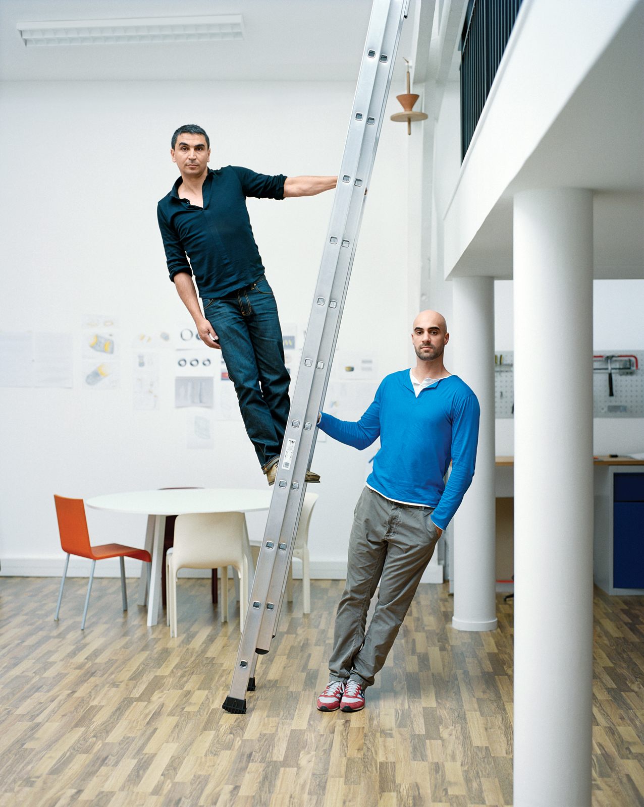 Jean-François Dingjian and Eloi Chafaï of Normal Studio