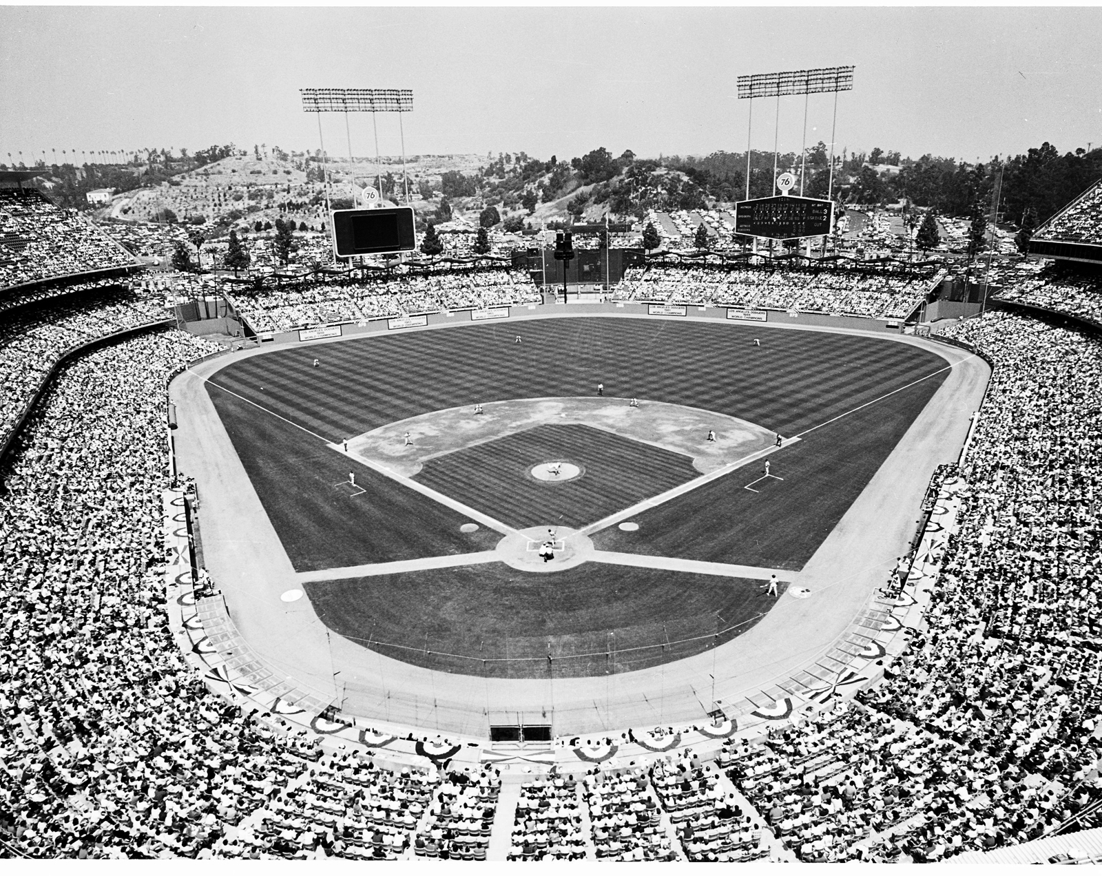 Los Angeles Dodgers Opening Day 1989