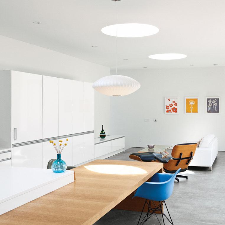 Simple modern design prefab home