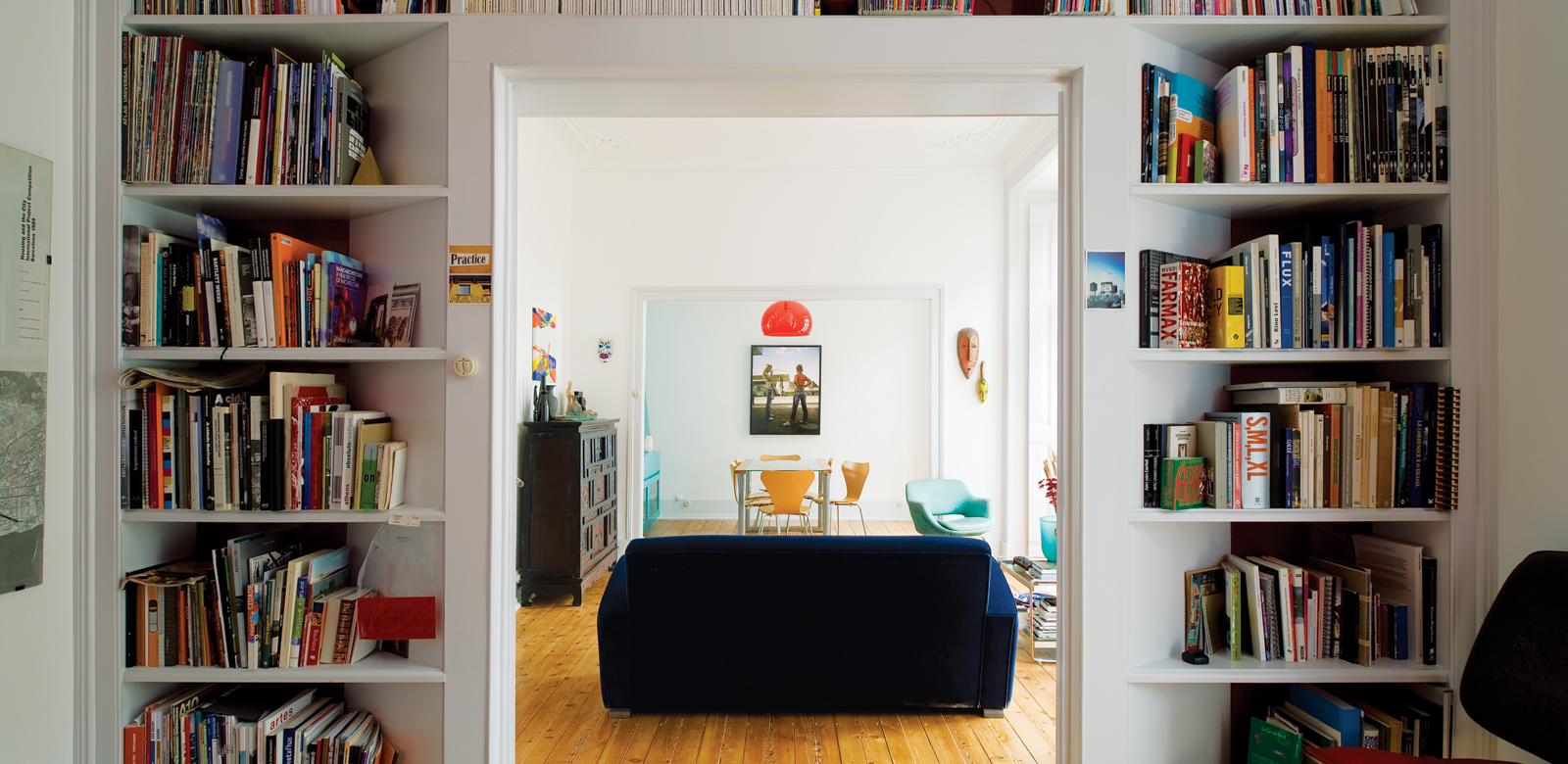 Architect and MoMA Curator Pedro Gadanho's square library