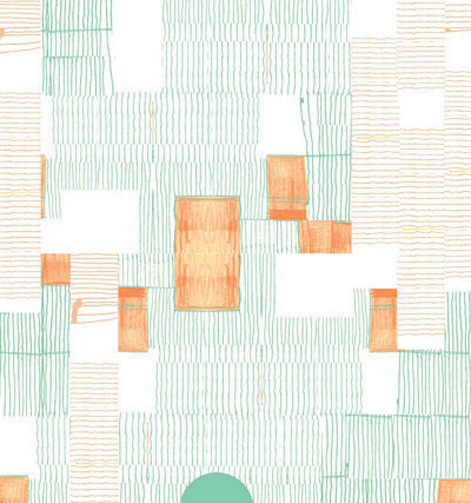 Mint Blanket Wallpaper by Renée Rossouw