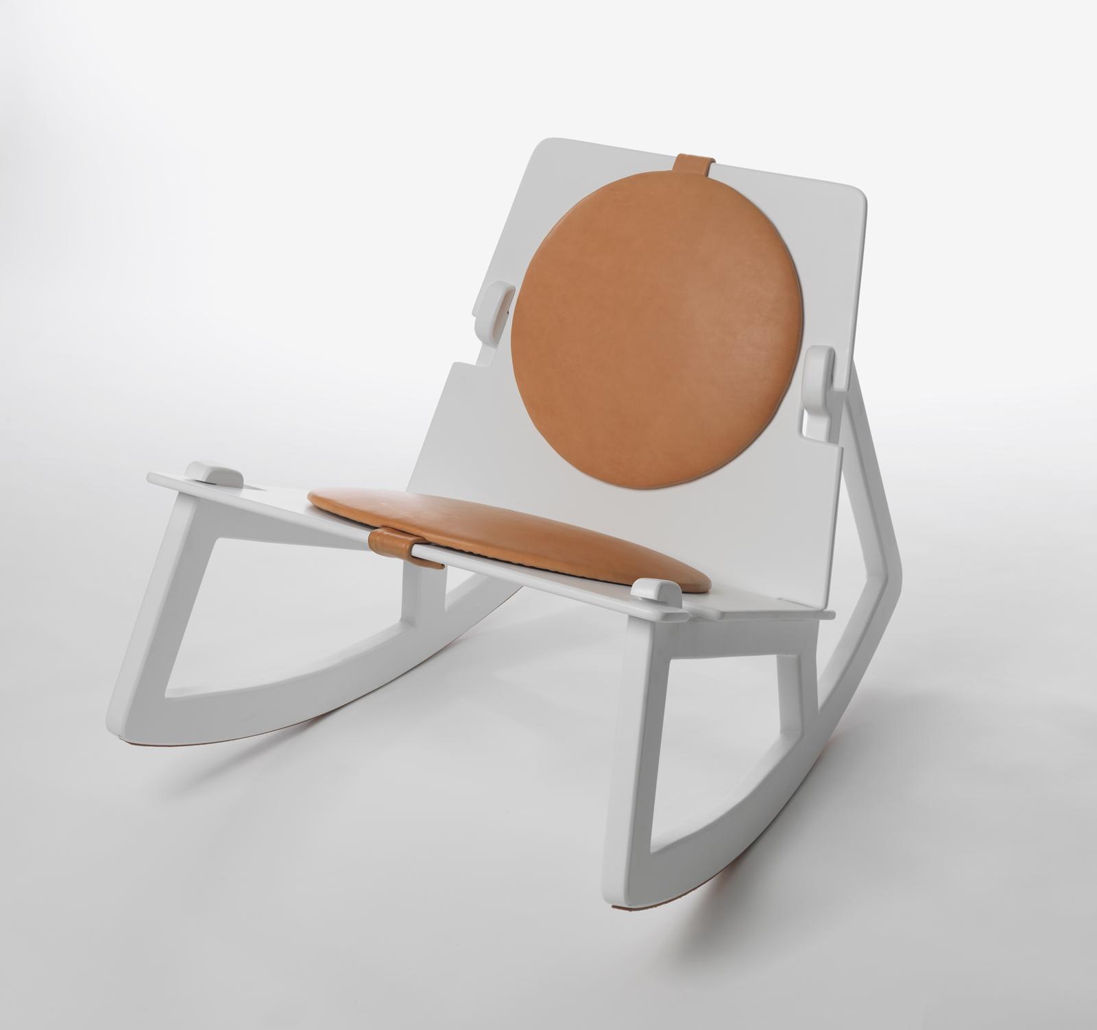 In Rock Chair by Fredrik Färg