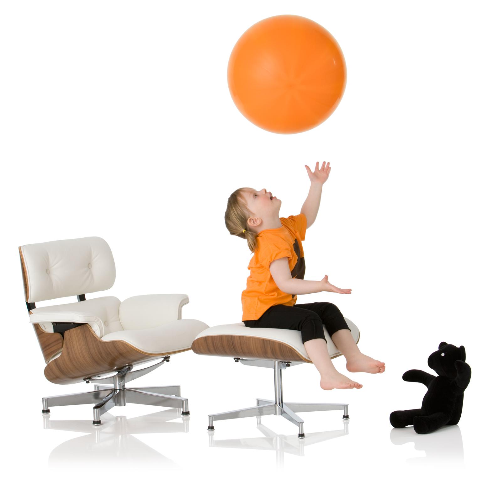 Mini Eames Lounge chair for children
