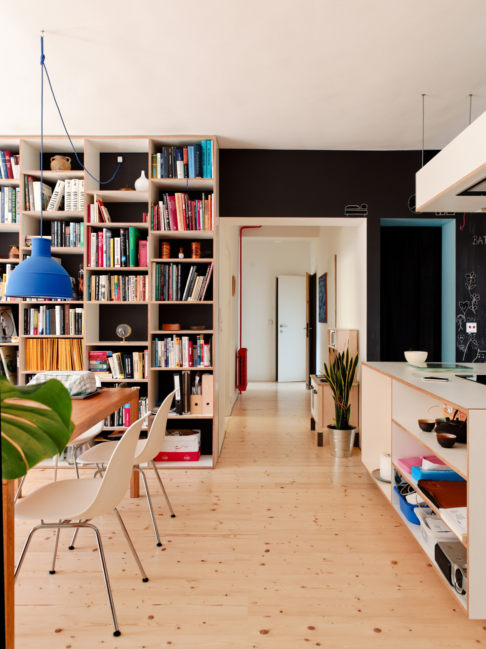 bratislava, slovakia, bookshelf, plywood