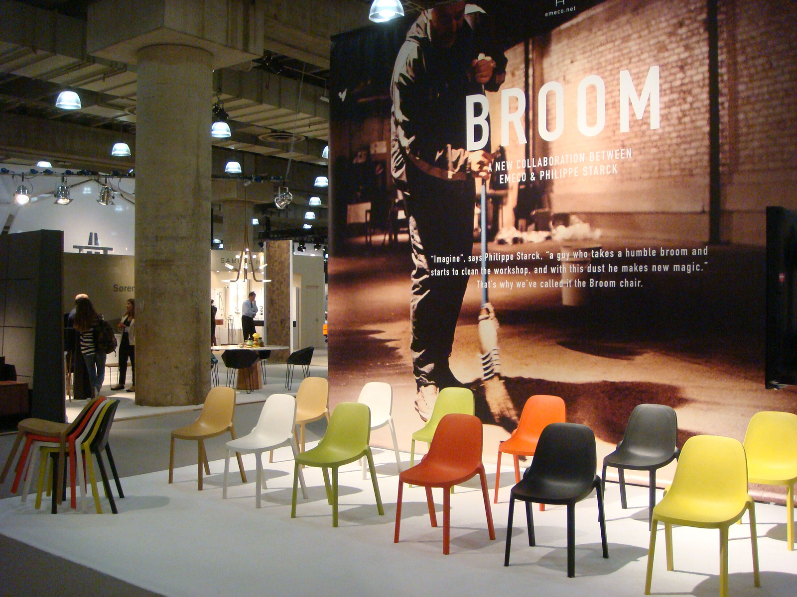 Phillipe Starck Emeco Broom Chair ICFF Multiple Production award