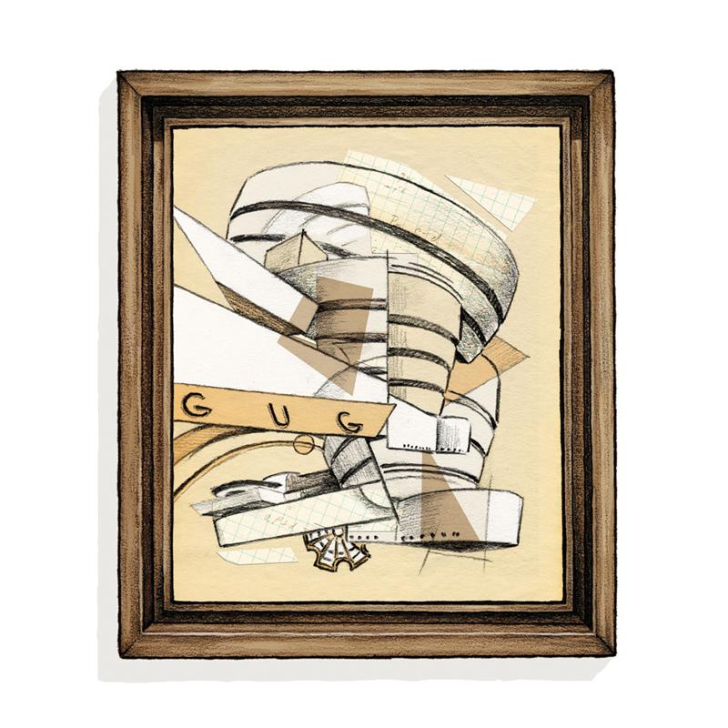 Guggenheim painting