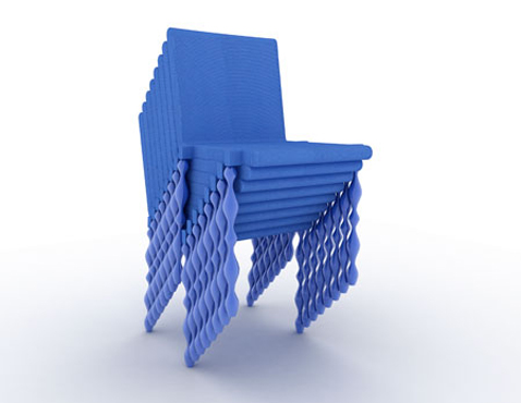 KKA Pirate Stacked Chair