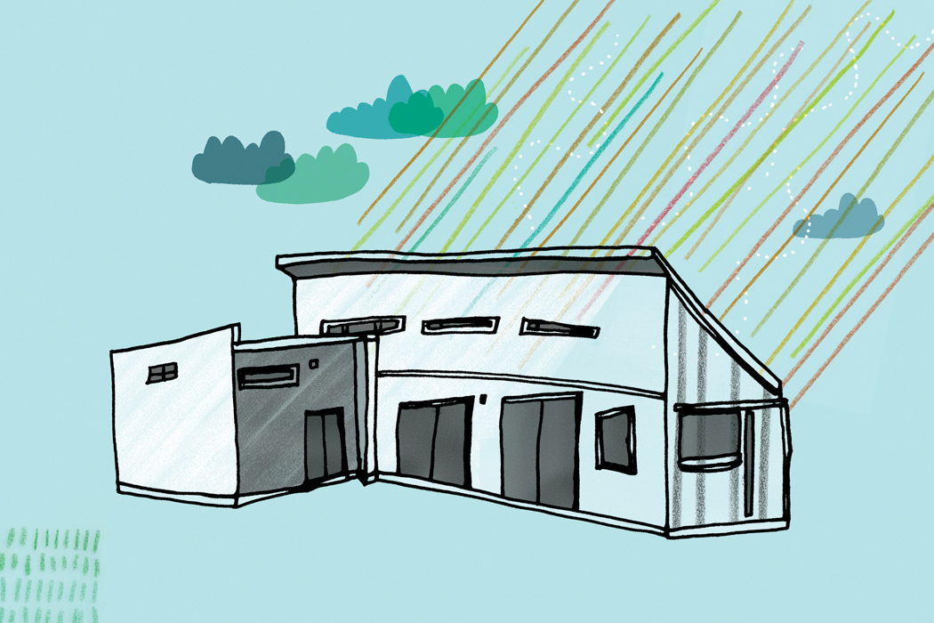 House illustration by Mike Perry