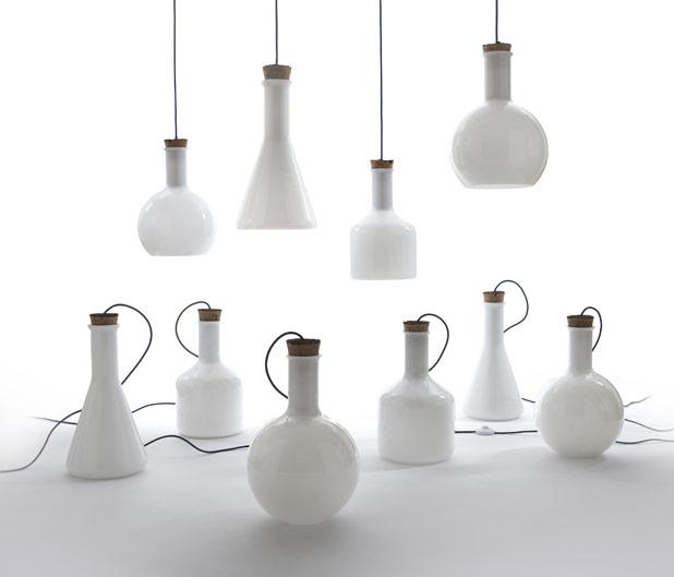 Labware Lamps by Benjamin Hubert