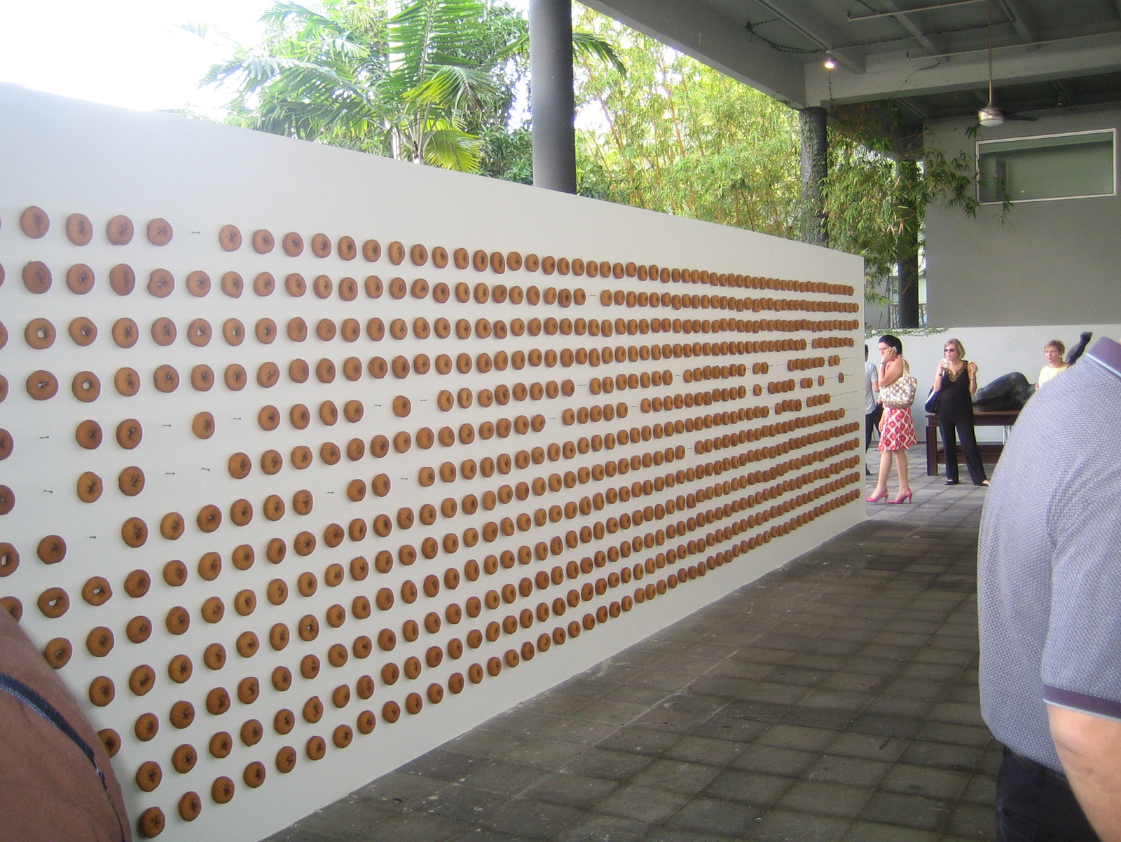 Donut Wall Rubell Family Collection
