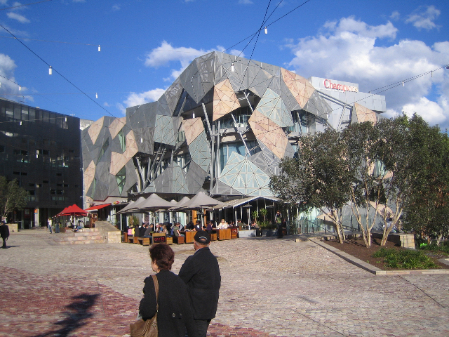 Federation Square in Melbourne Australia