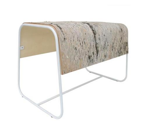Birch Bench by Tanya Aguiniga