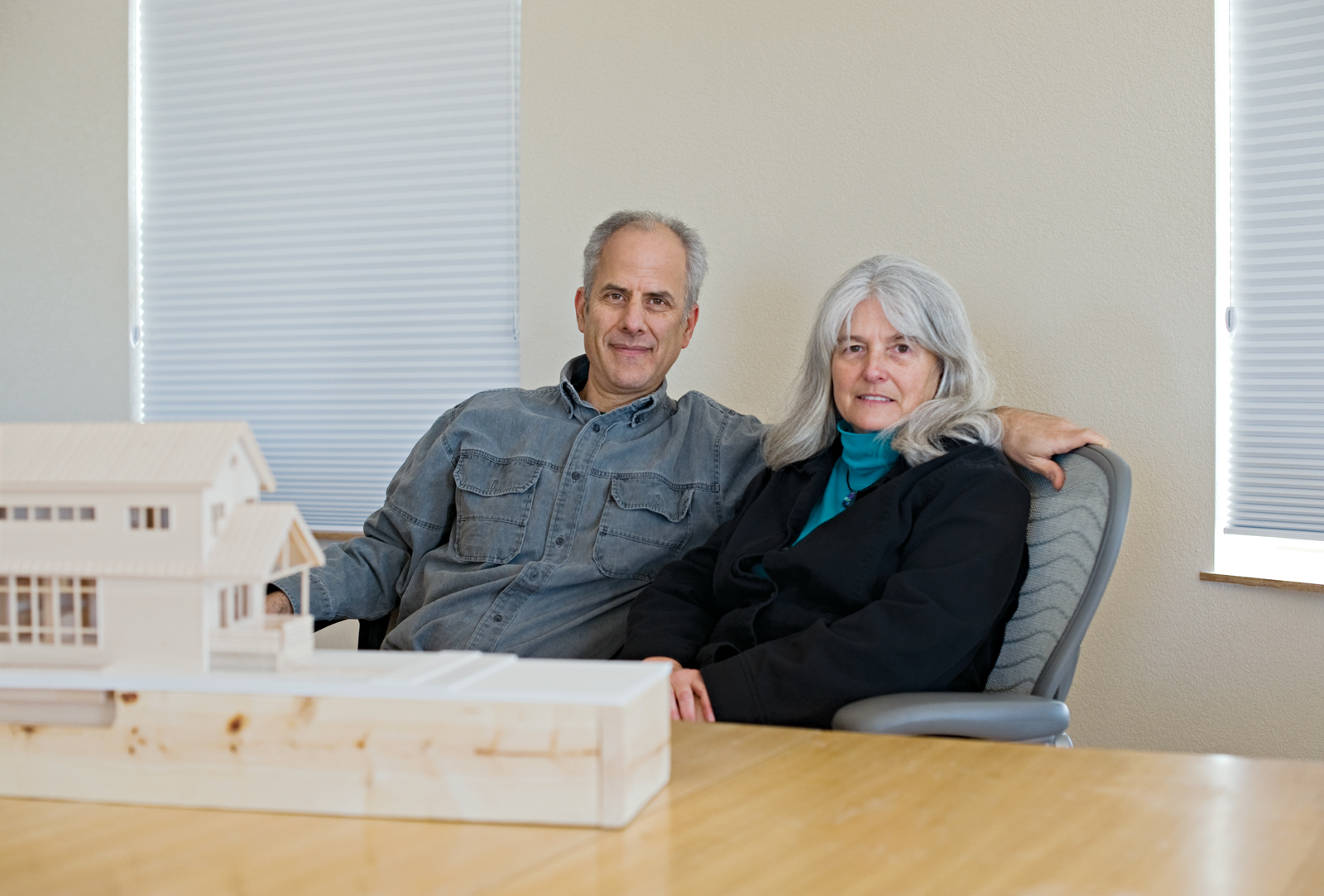 Greensburg GreenTown founders Wallach and Catherine Hart