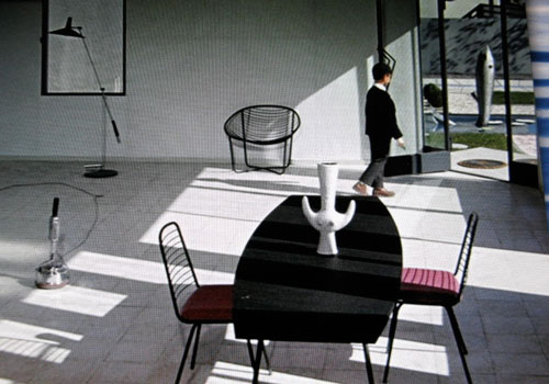 films interior mon oncle dining room
