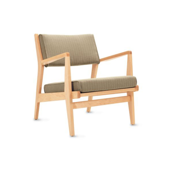 """Danish designer <a href=""""http://www.dwell.com/articles/fascinating-risom.html"""">Jens Risom</a>, who designed the first-ever Knoll chair, collaborated with <a href=""""http://www.dwr.com/category/designers/r-t/jens-risom.do"""">DWR</a> to offer their Jens Risom C"""