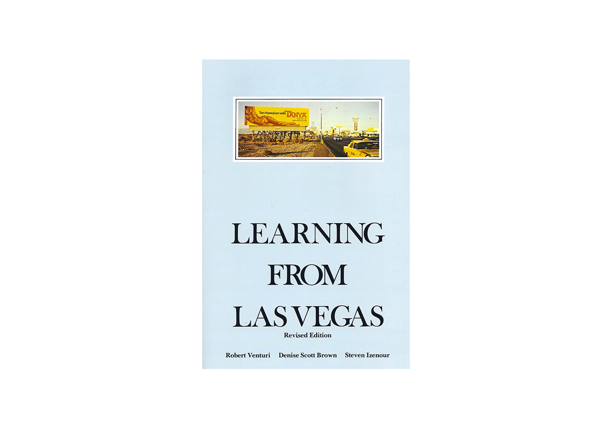 Learning from Las Vegas Revised Edition Robert Venturi