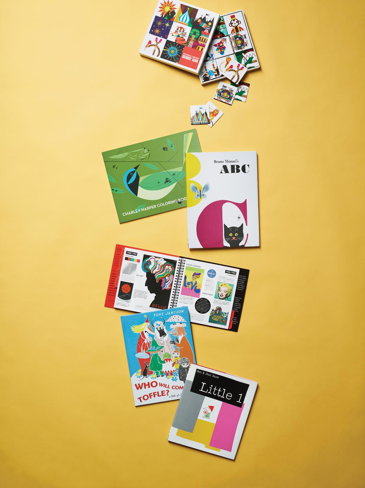 Children's design books