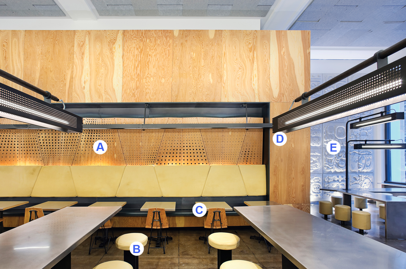Chipotle Restaurant in New York by Architecture Outfit