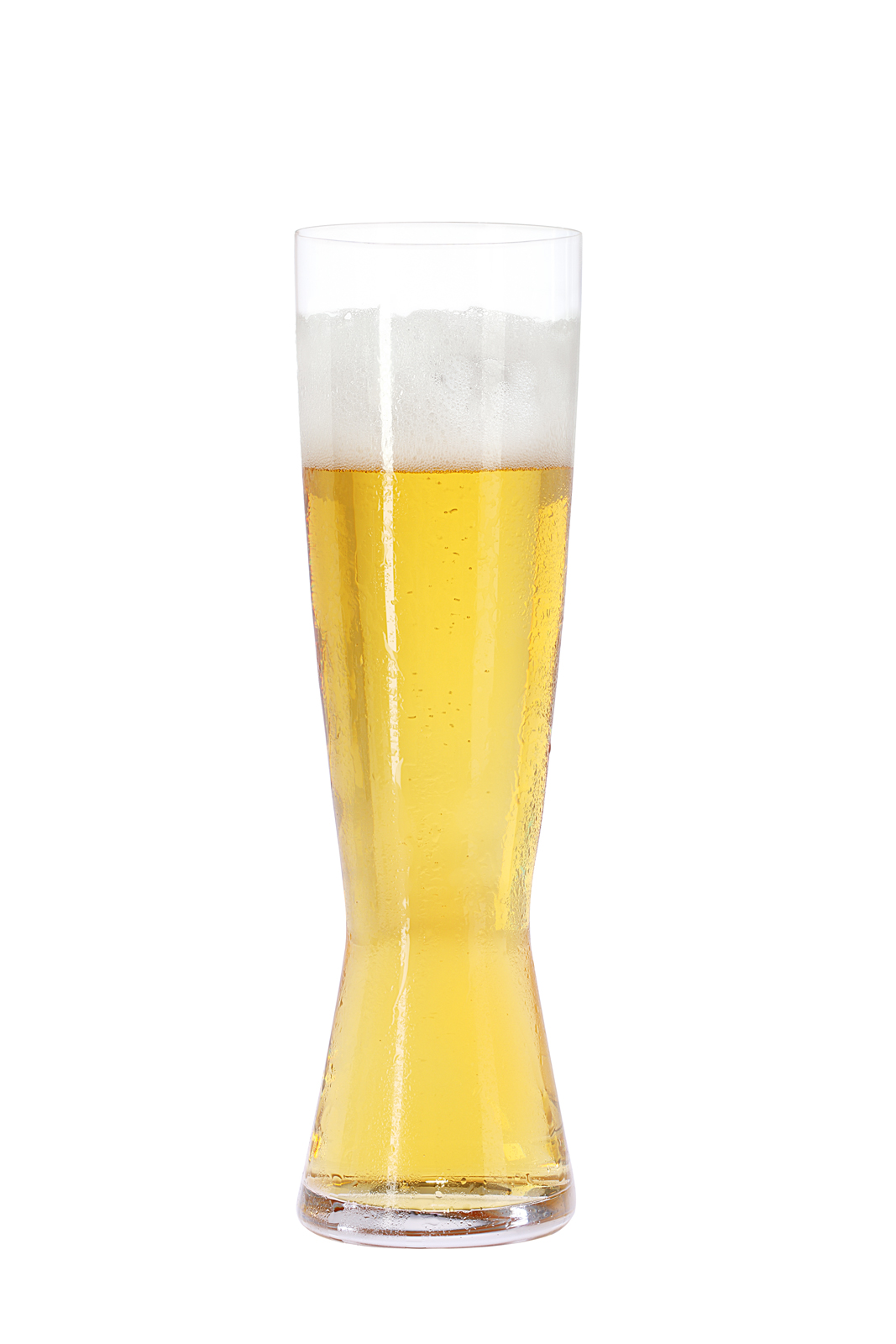 Tall Pilsner beer glass