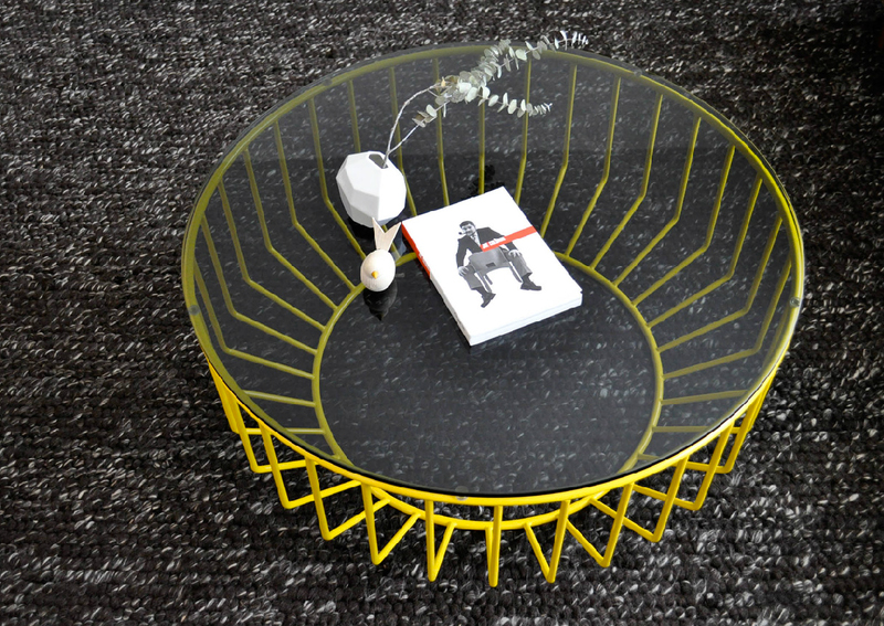 Wired coffee table by Phase