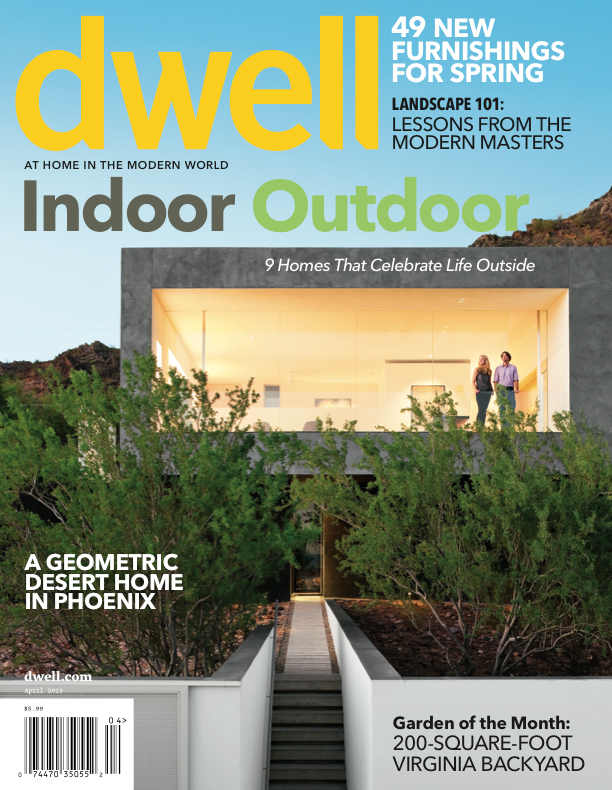 Dwell Magazine Outdoor Issue April 2013