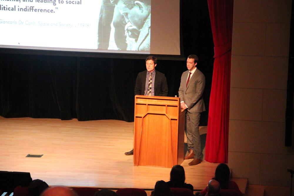 Michael Murphy and Alan Ricks of MASS Design Group