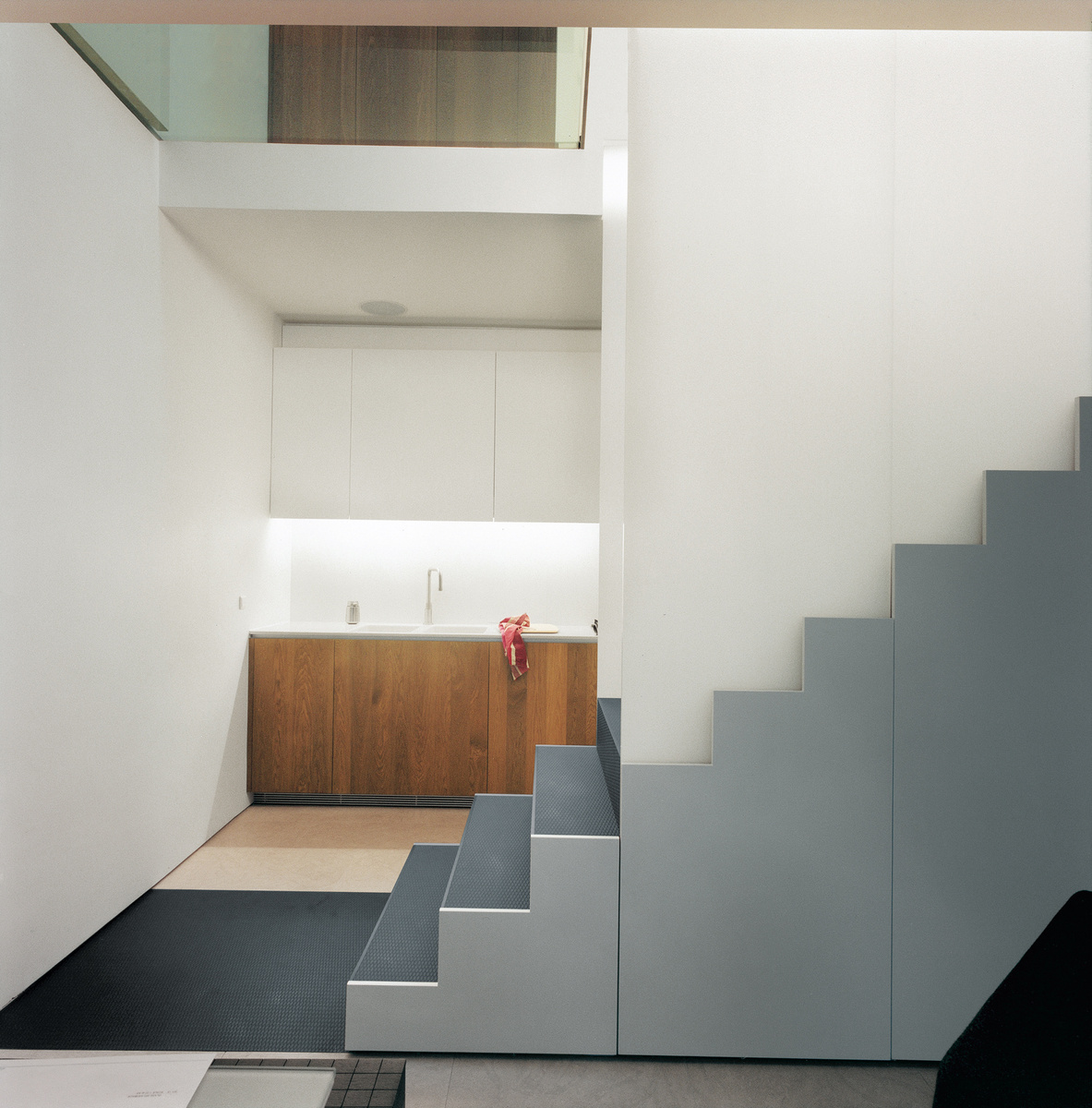 smith brennan residence stairs side view 0