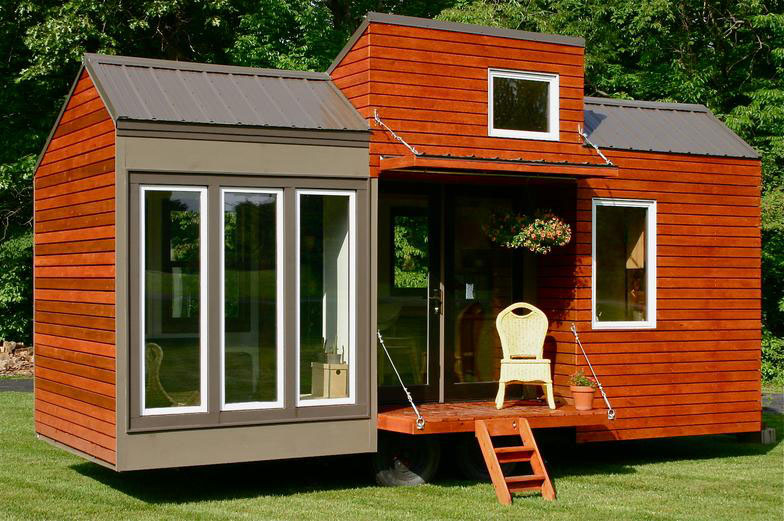 Tiny house for tall people