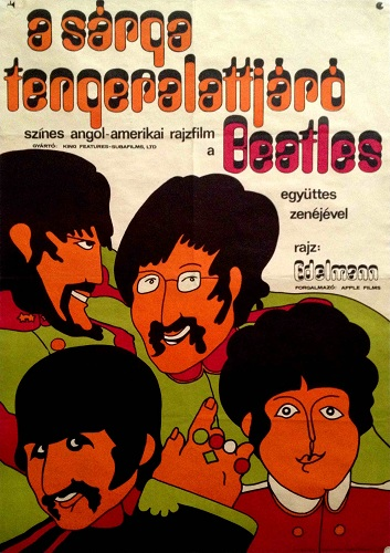budapest poster beatles