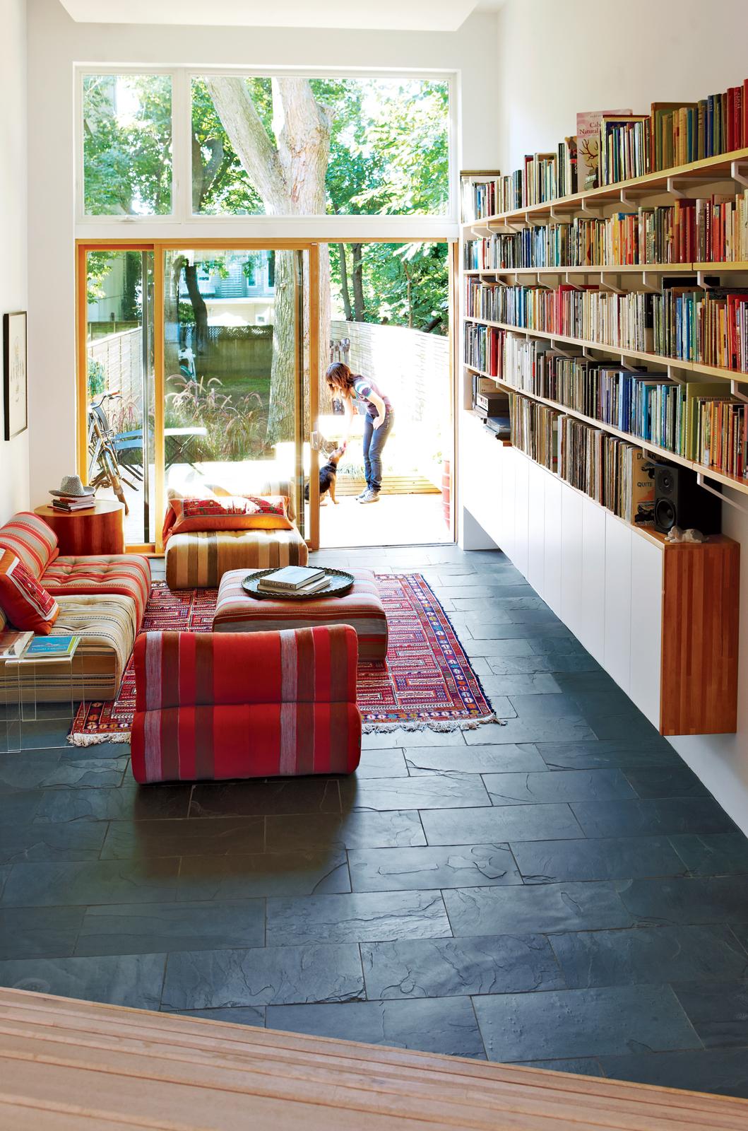 bookshelves, toronto, studio