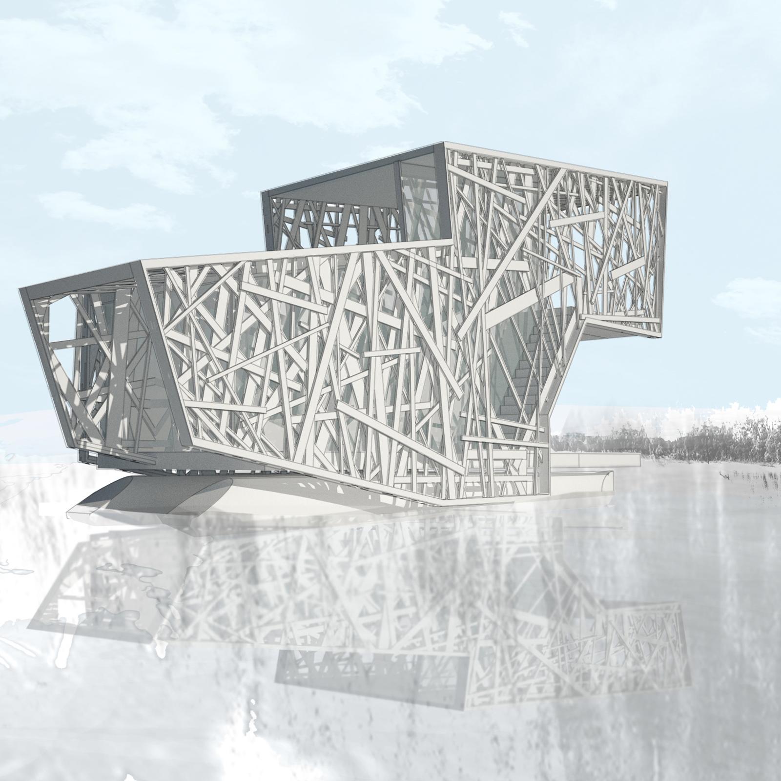 Floating House by DIGSAU