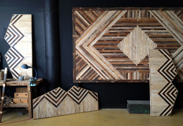 reclaimed wood studio shop