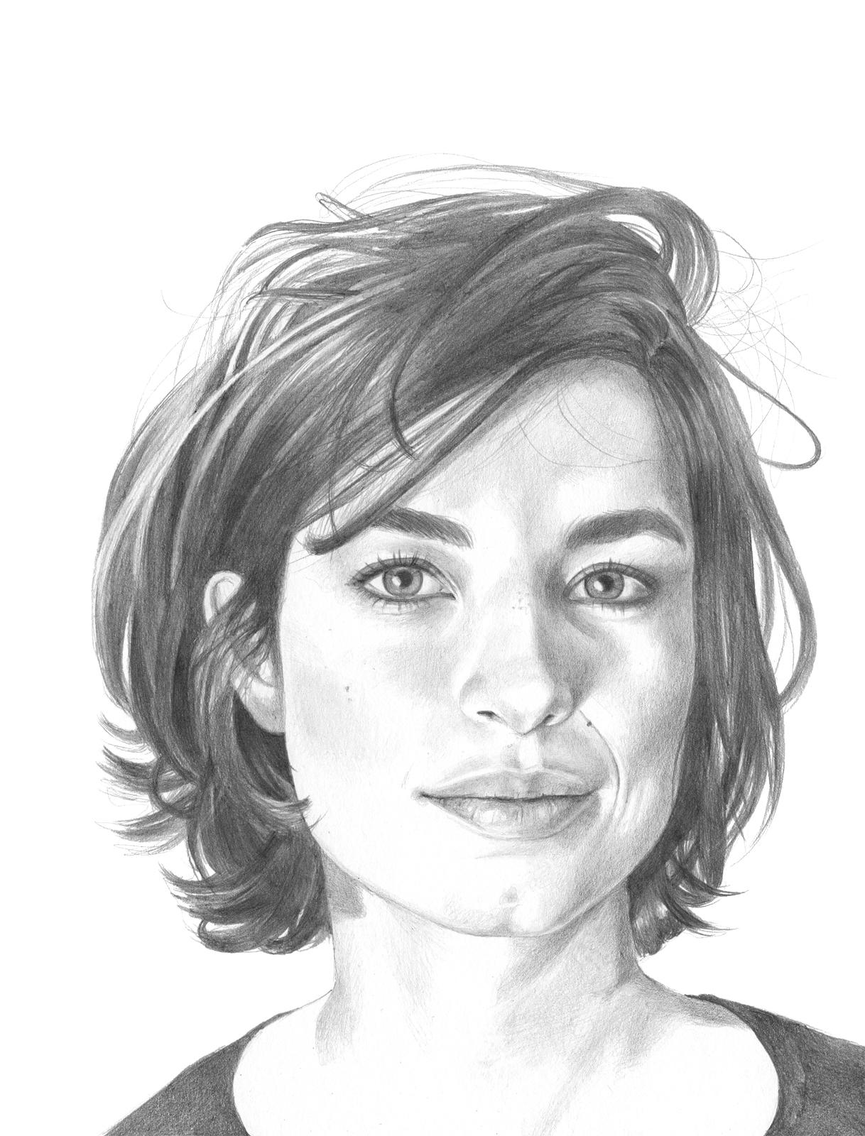 pauline deltour portrait