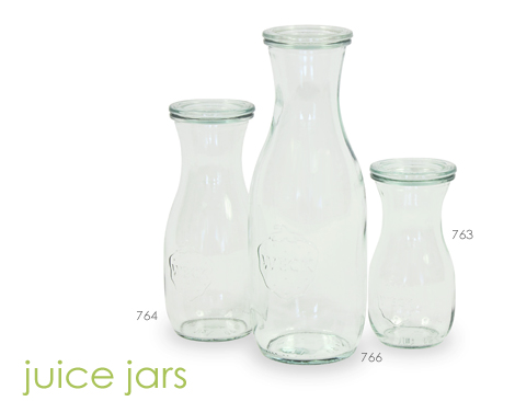 weck juice jars