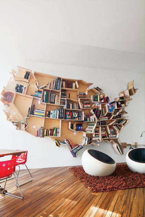 an american bookshelf in london 0