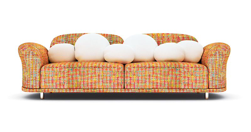 Cloud sofa by Marcel Wanders for Moooi