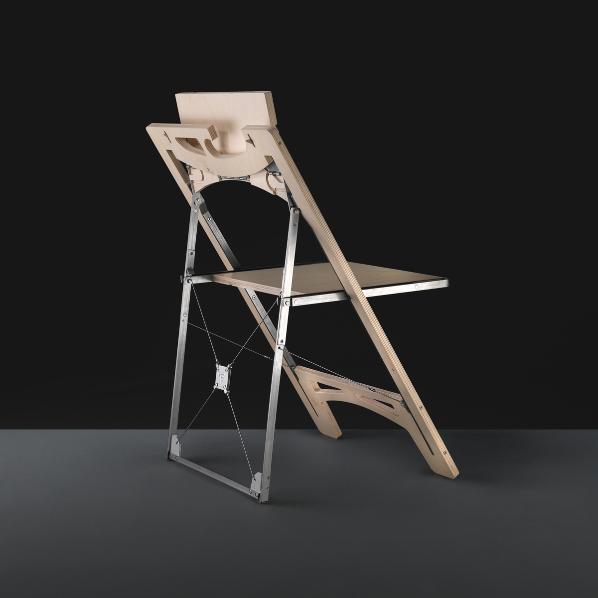 modern folding chair for small spaces by folditure