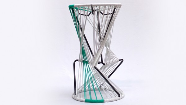 Cosmo woven stool